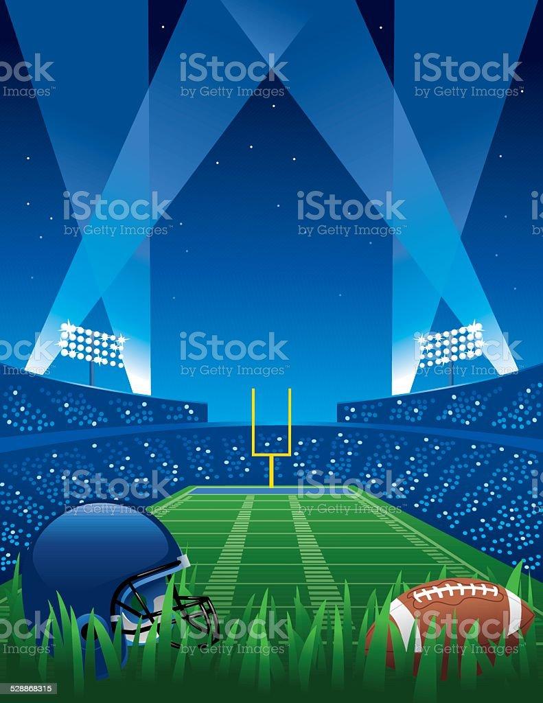 Football Game vector art illustration