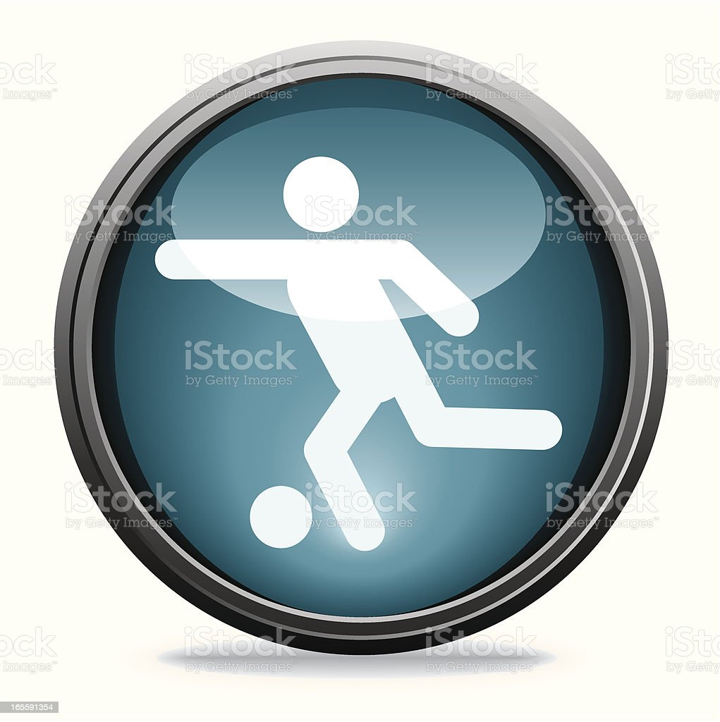 Football | Glass Collection royalty-free stock vector art