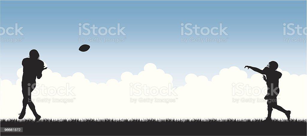 Football Heaven royalty-free stock vector art