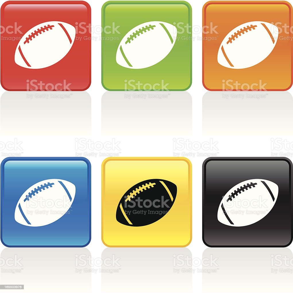 Football Icon royalty-free stock vector art