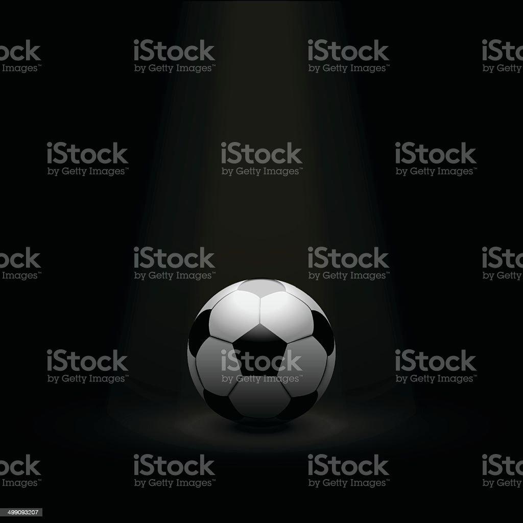 football / soccer ball background royalty-free stock vector art