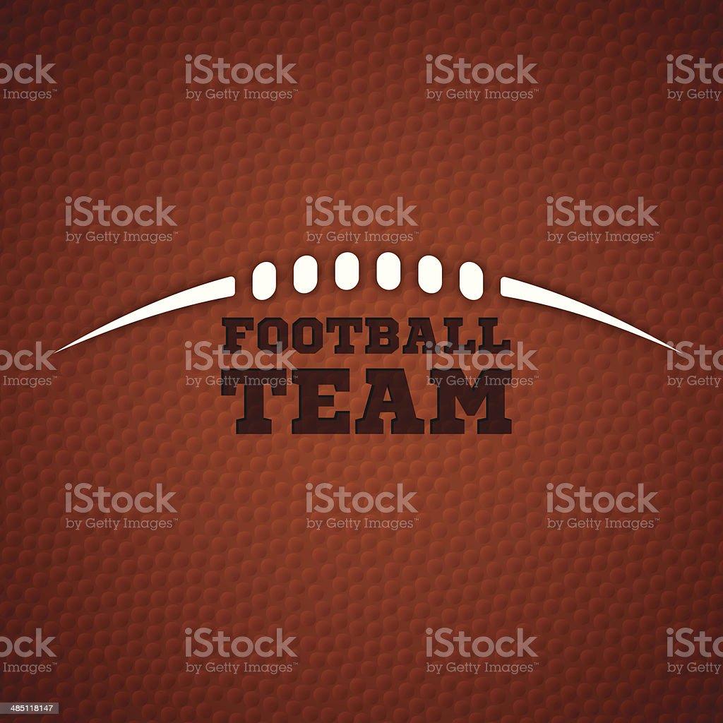 Football Team vector art illustration