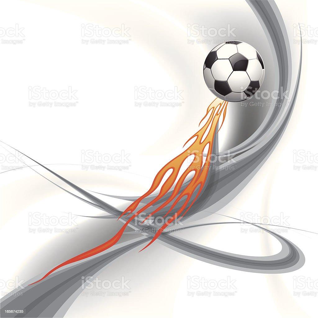 Football Territory Graffiti royalty-free stock vector art