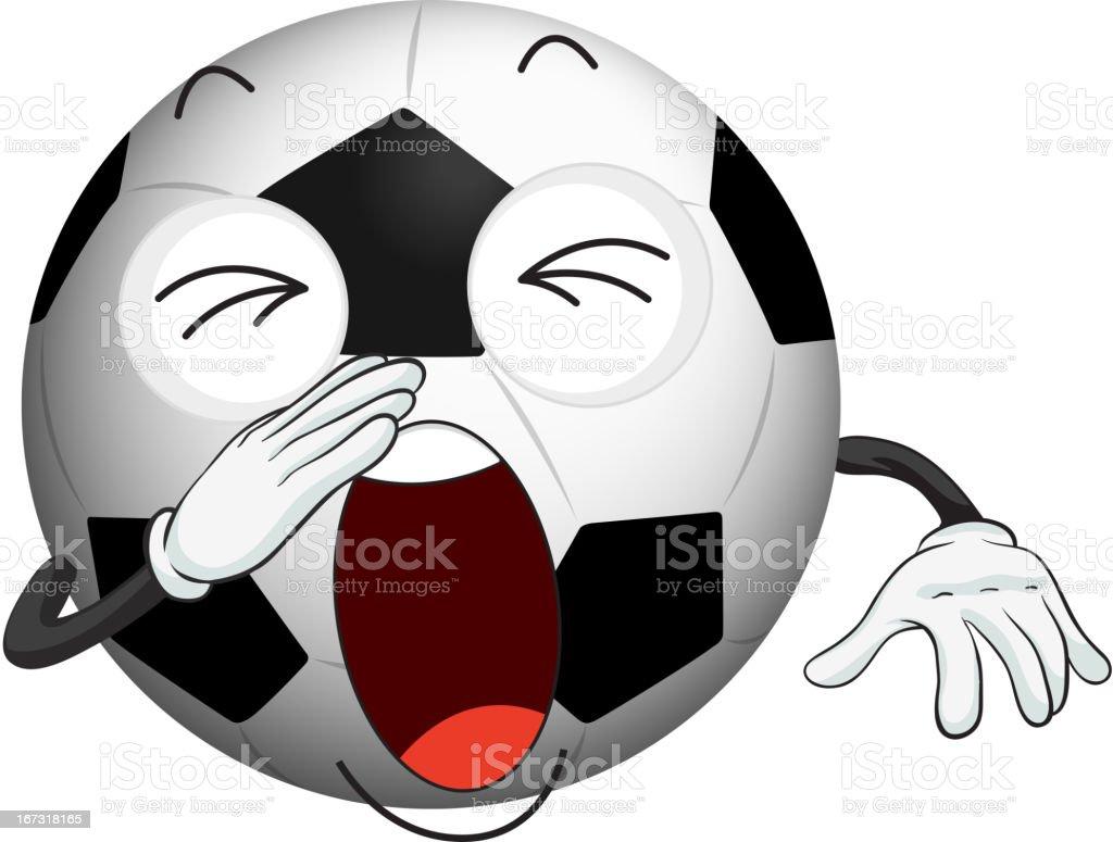 Football royalty-free stock vector art
