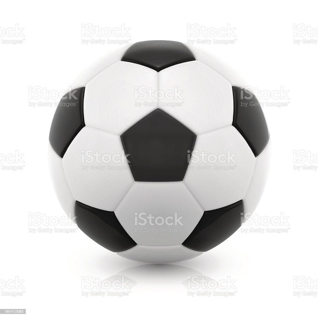 Football vector art illustration