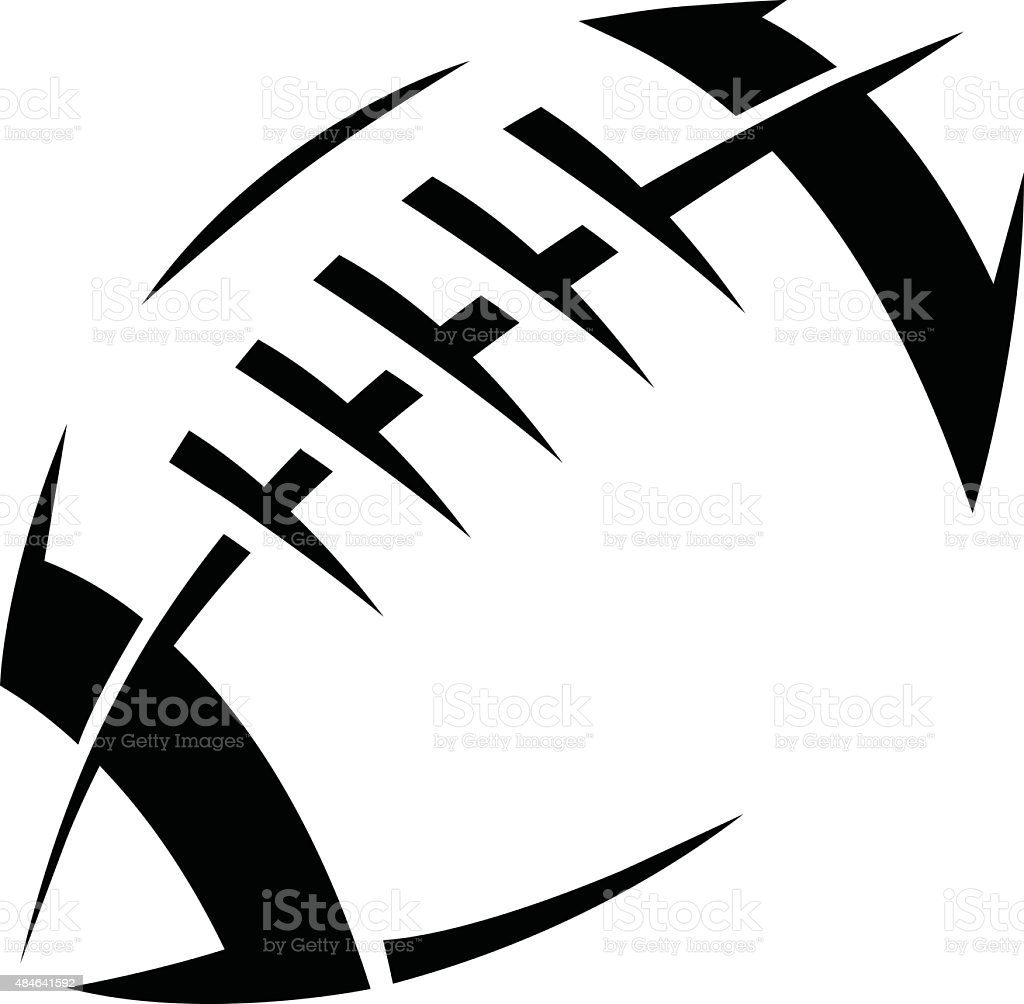 Football Catching Silhouette Football Player Clip Art Vector Images