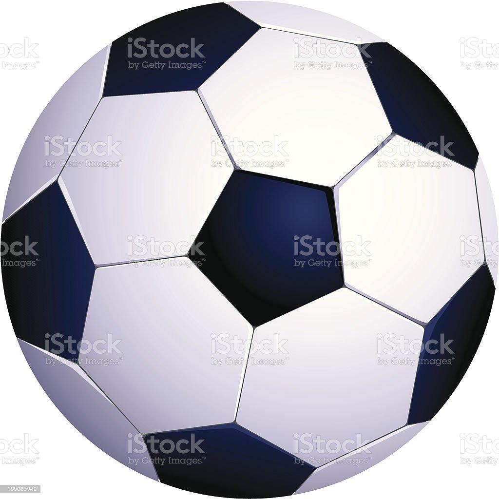 Football/Soccer Ball vector art illustration