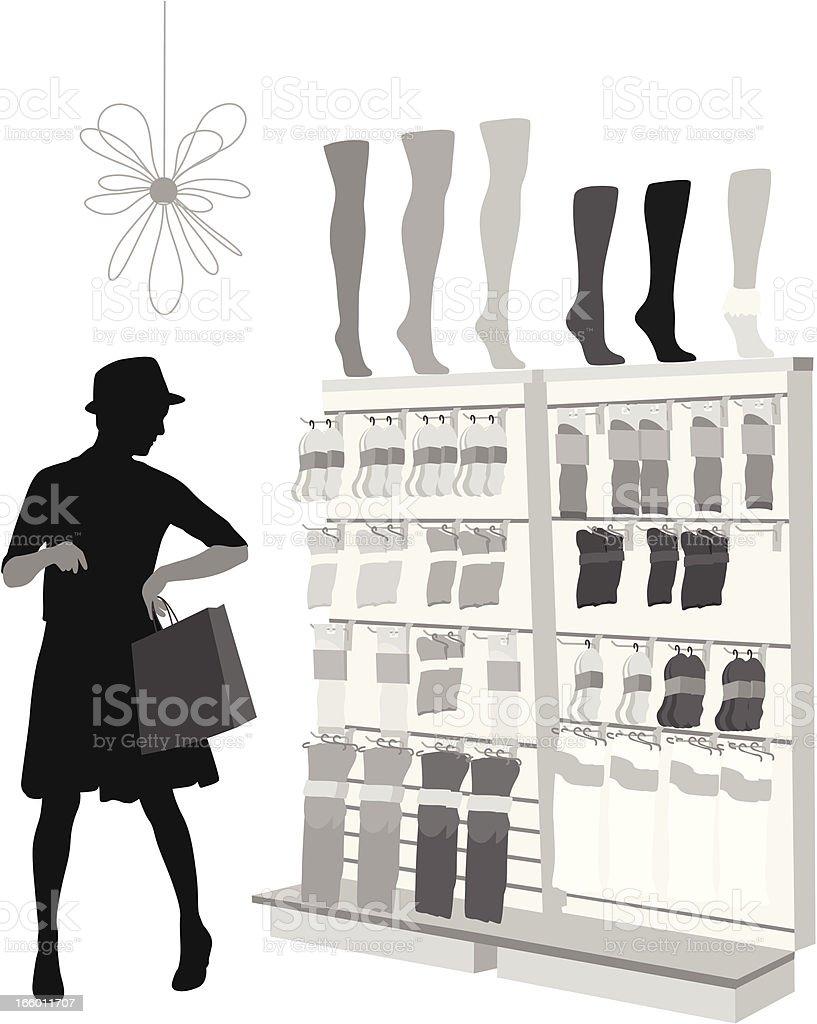 Footwear royalty-free stock vector art
