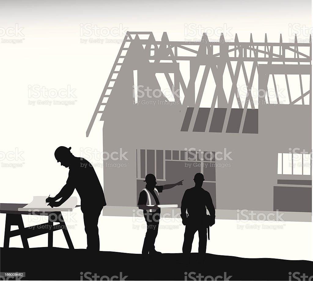 Foreman royalty-free stock vector art