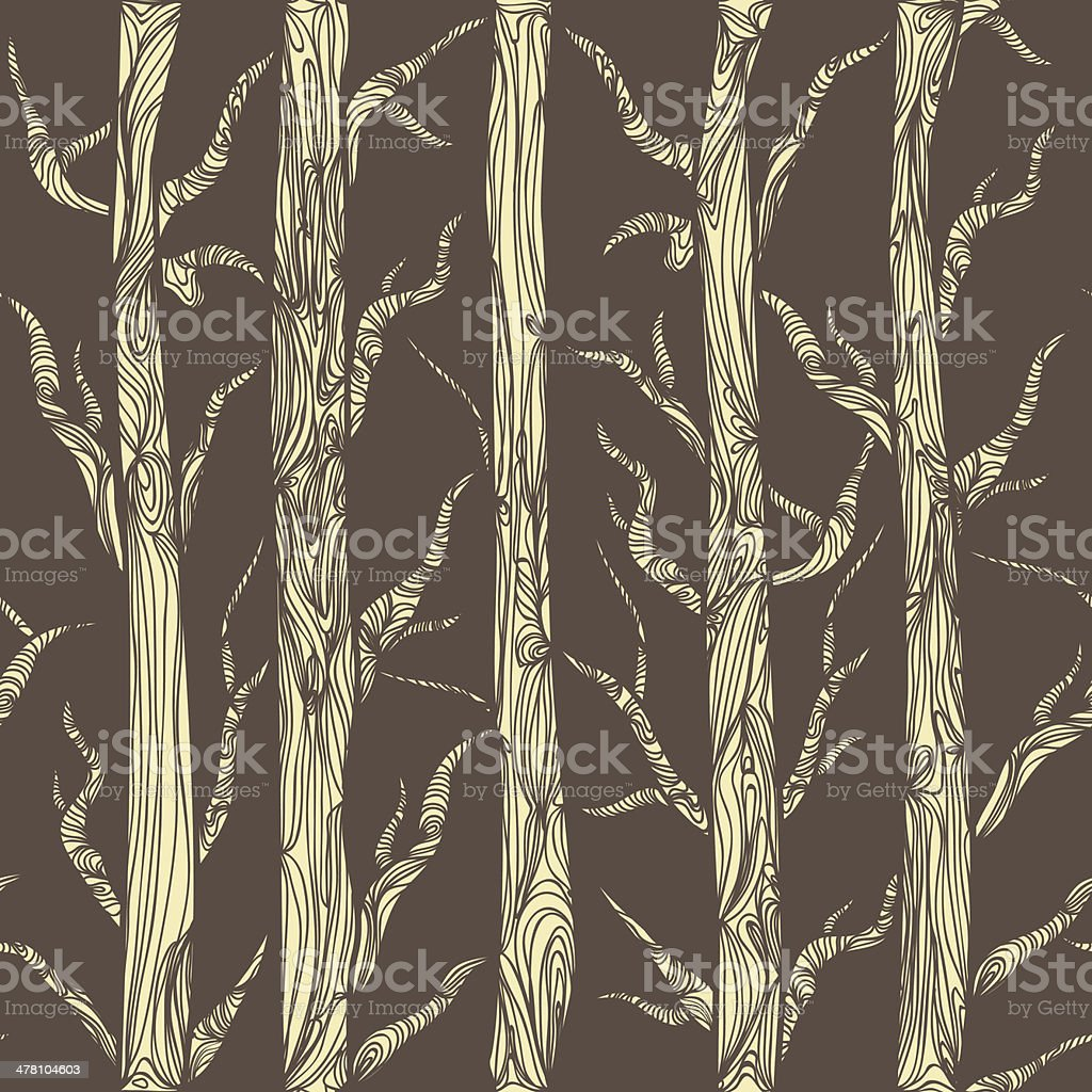 Forest royalty-free stock vector art