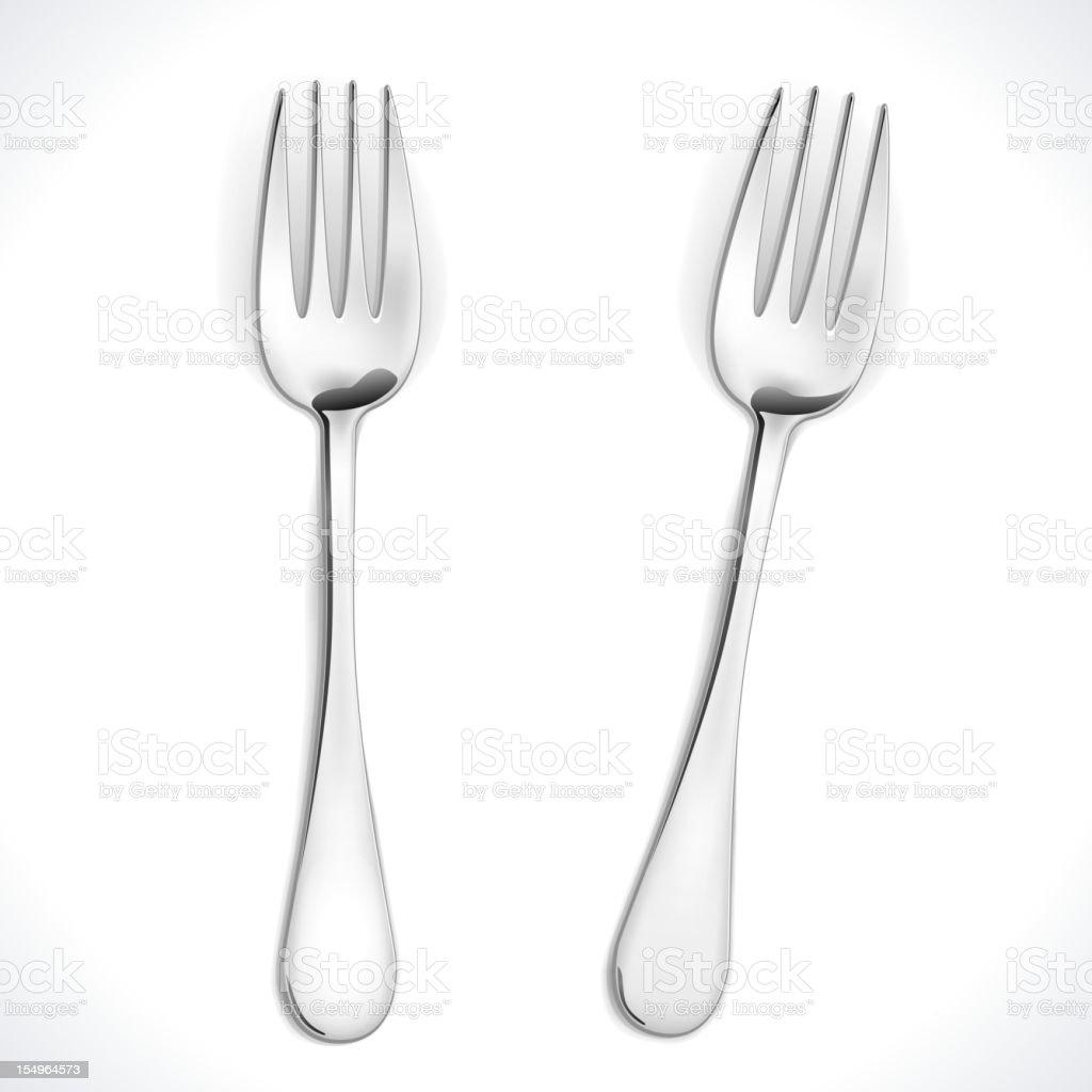 Fork royalty-free stock vector art