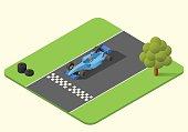 formula one race car