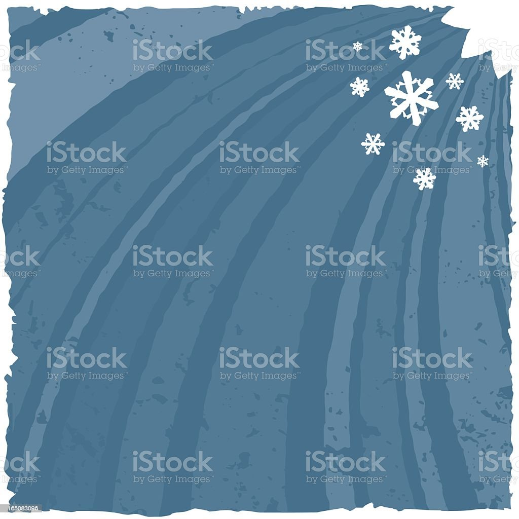 Four Seasons Collection - Winter royalty-free stock vector art
