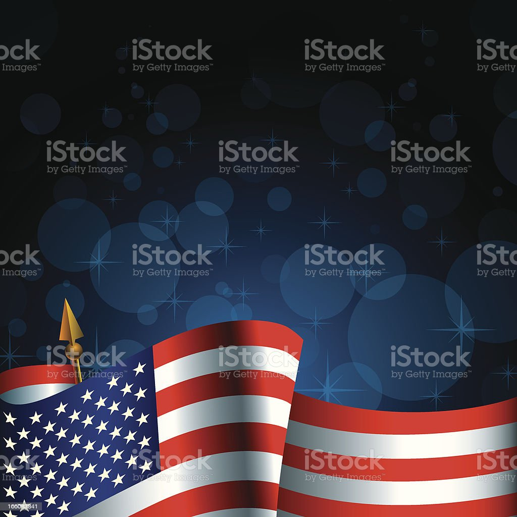 Fourth of July (Independence Day) royalty-free stock vector art