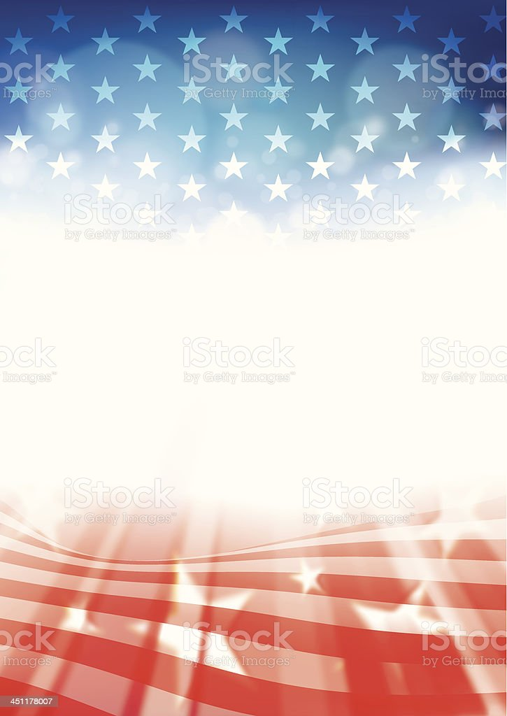 Fourth of July vector art illustration