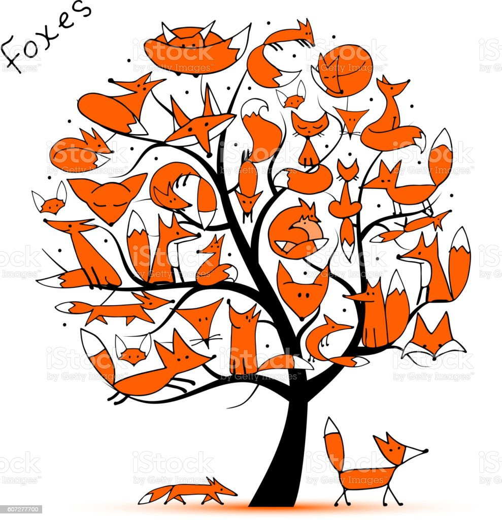 Image result for fox family clipart