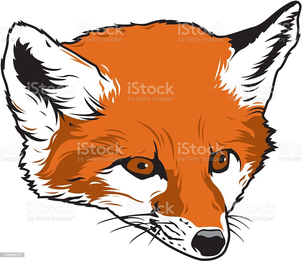 Fox royalty-free stock vector art