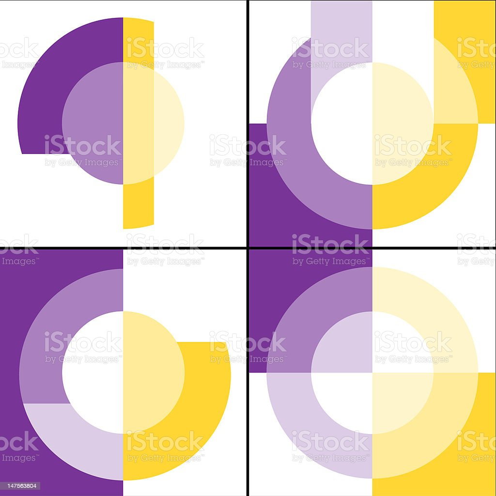 Fractal geometry (vector) royalty-free stock vector art