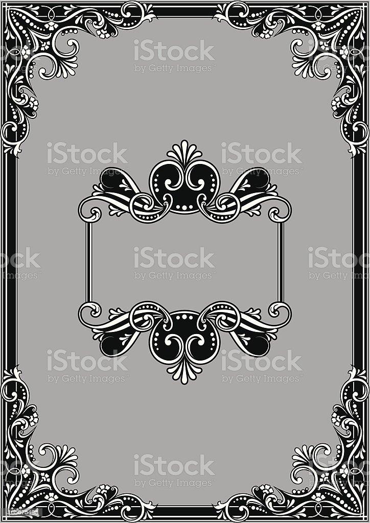 Frame Design vector art illustration