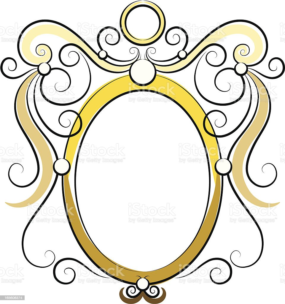 Frame of Swirls royalty-free stock vector art