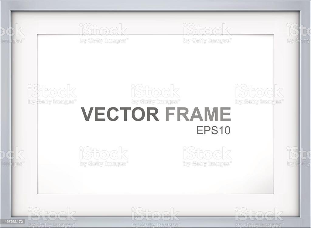 Frame. vector art illustration