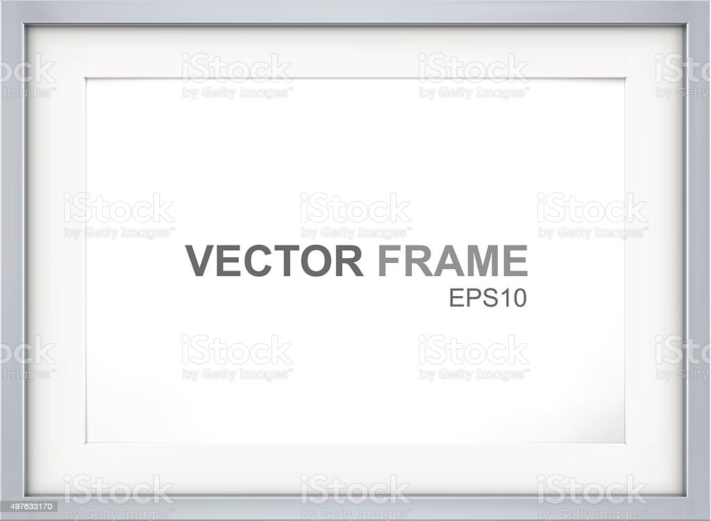 Frame. vector art illustration