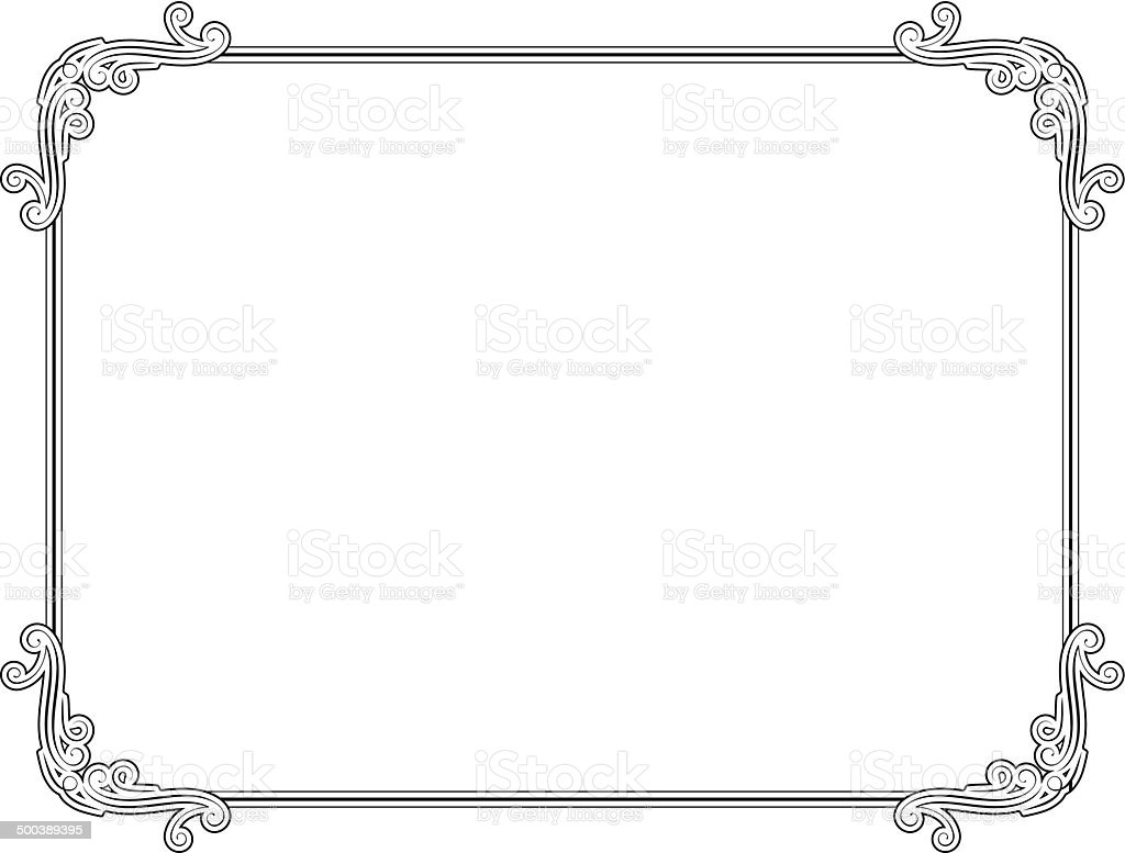 Frame royalty-free stock vector art