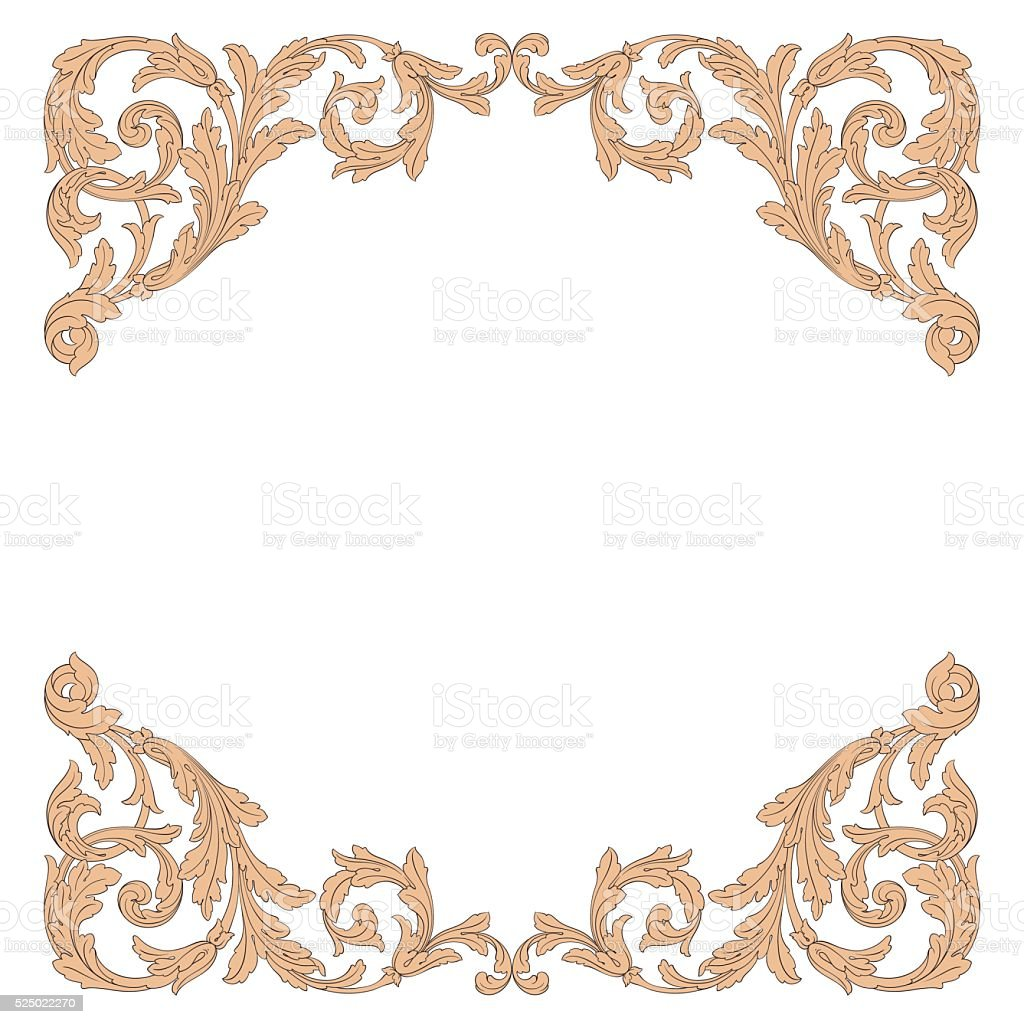 Frame vector page decorations stock vector art 525022270 for Decoration page