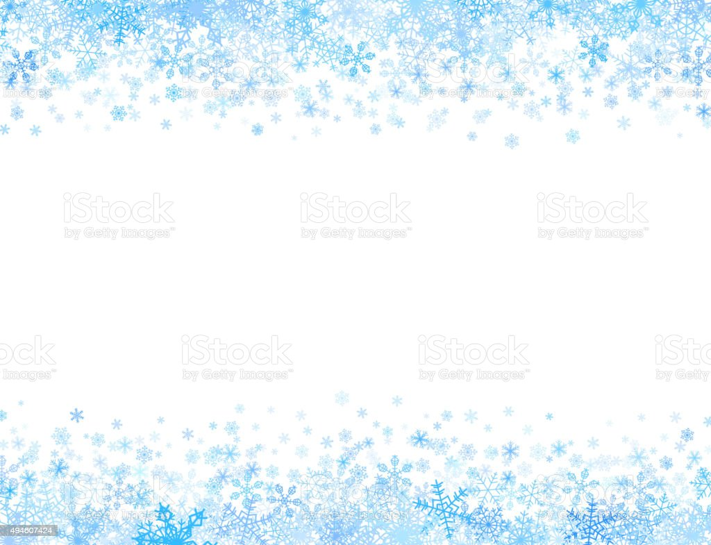 Snowflakes Writing Paper  Activity Village