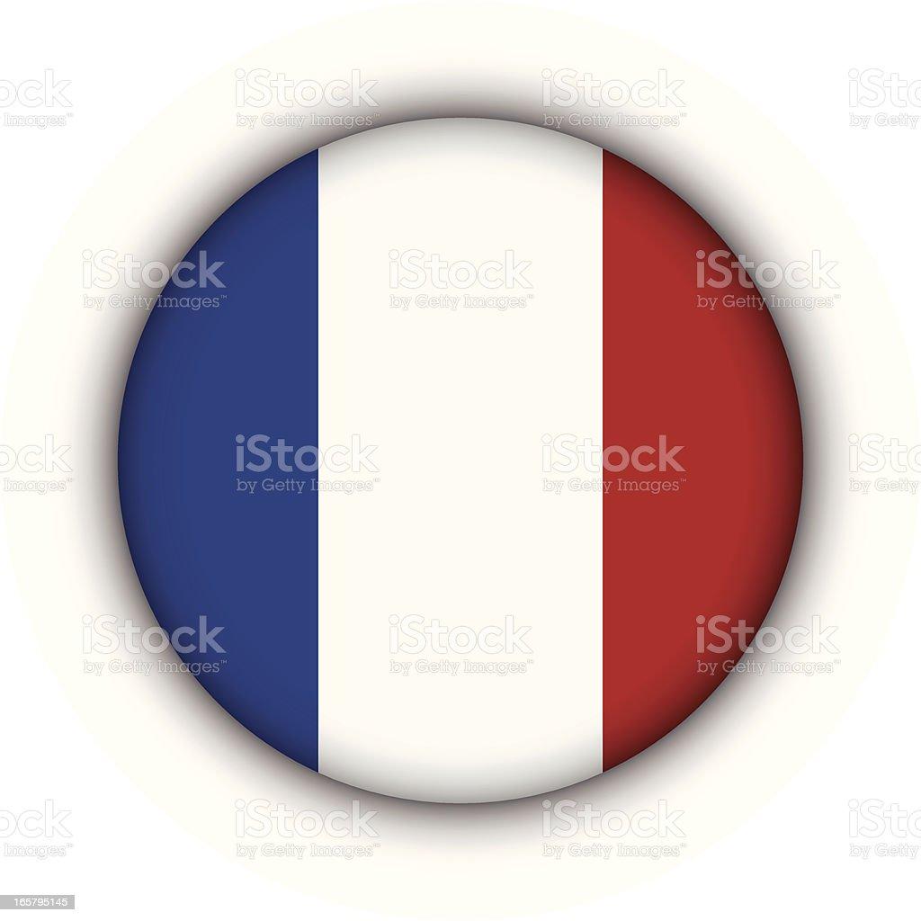 France Badge royalty-free stock vector art