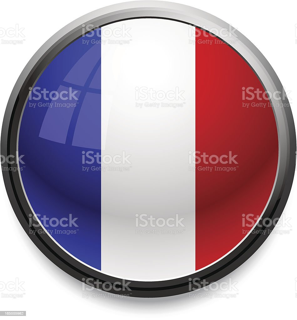 France - flag icon royalty-free stock vector art