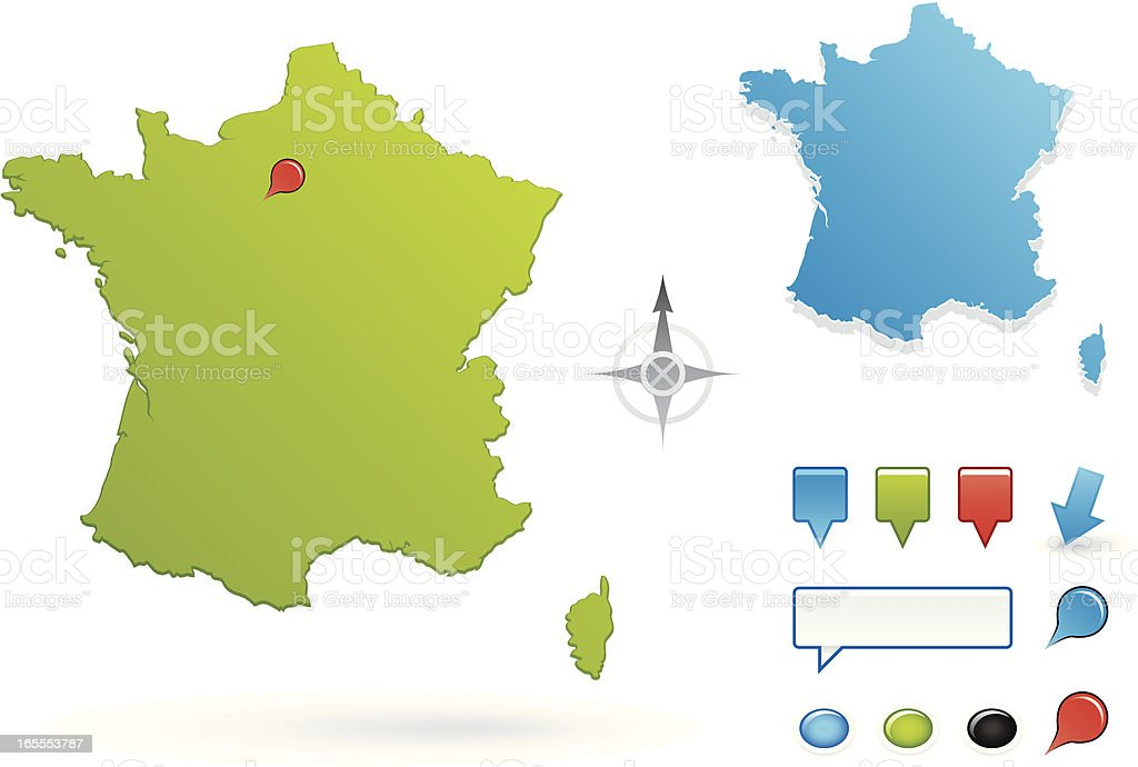 France royalty-free stock vector art