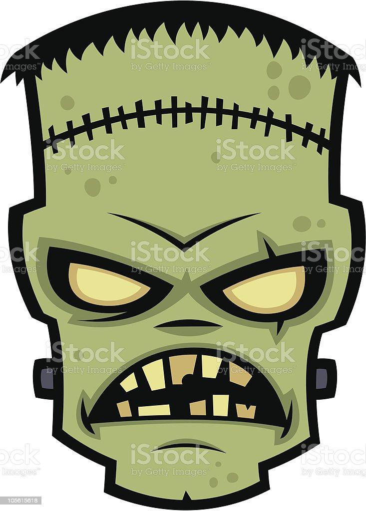 Frankenstein Monster vector art illustration