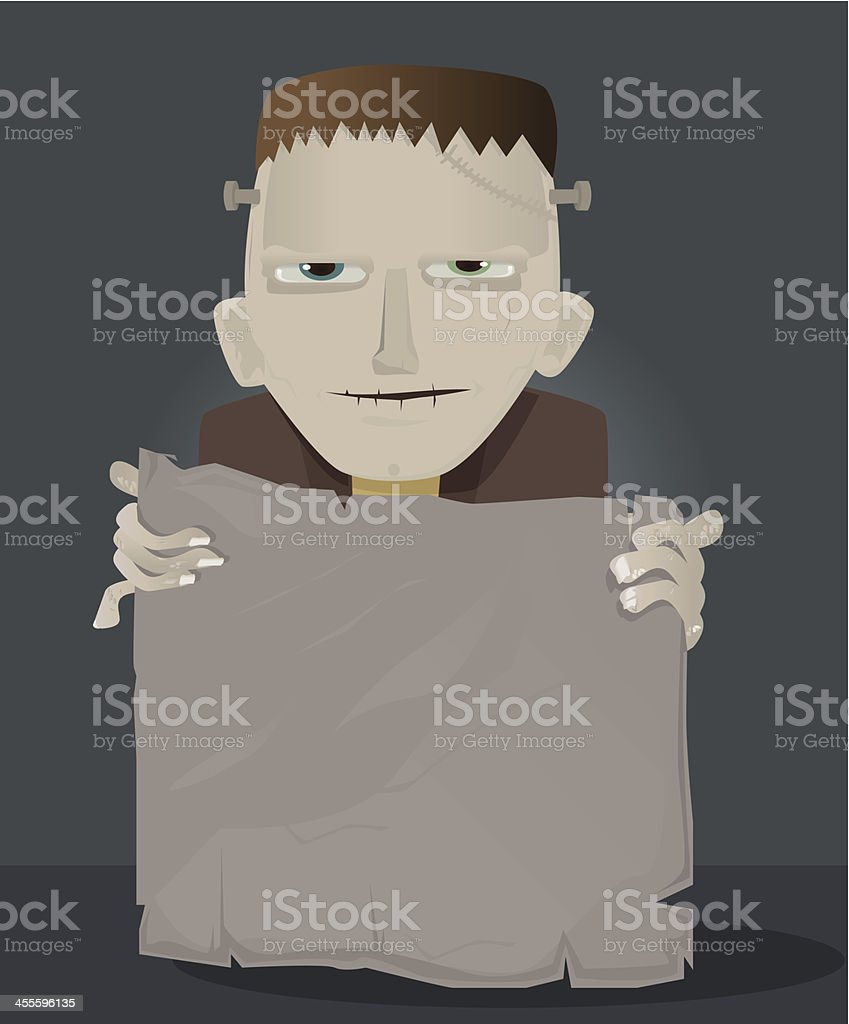 Frankenstein royalty-free stock vector art