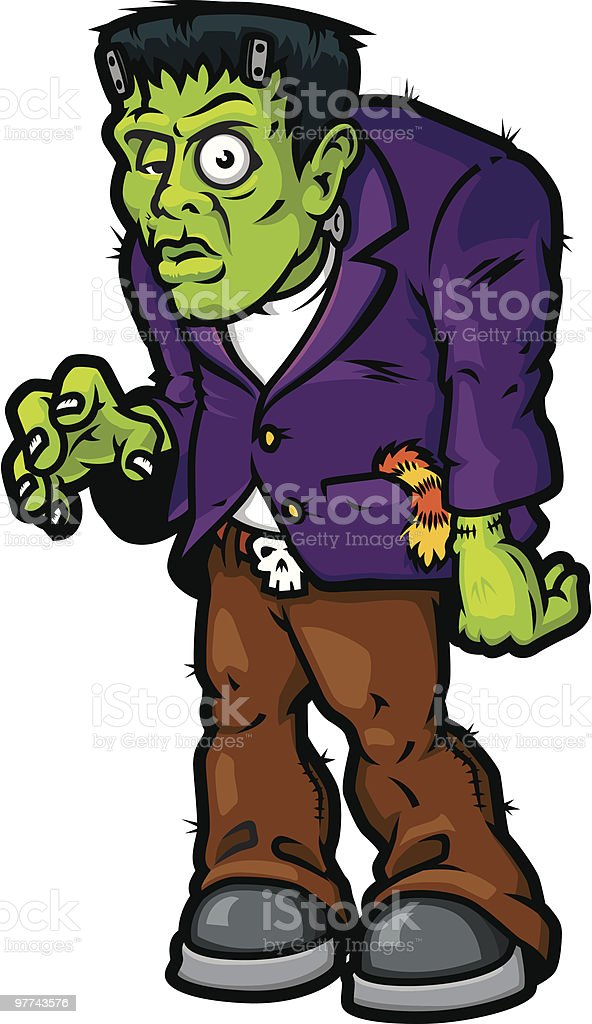 Frankenstein royalty-free stock vector art