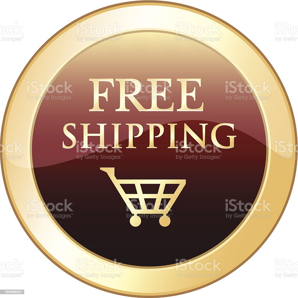 Free Shipping royalty-free stock vector art