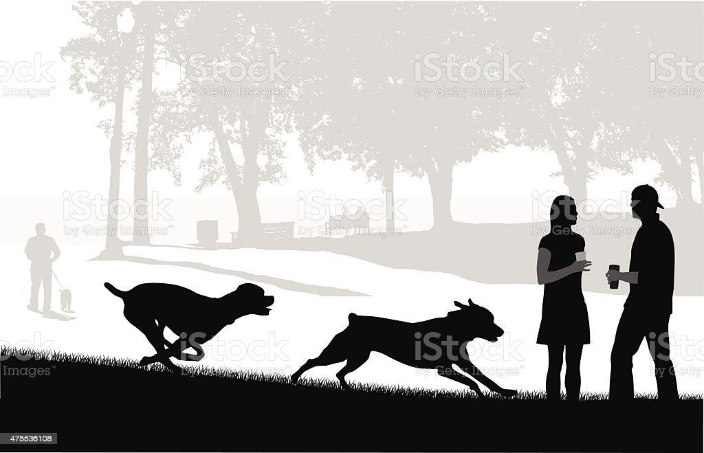 Free To Run vector art illustration