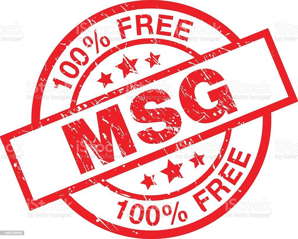 MSG Free vector art illustration