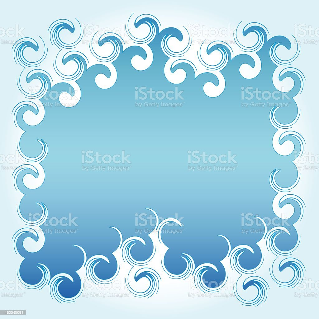 Freeze-up (vector) royalty-free stock vector art