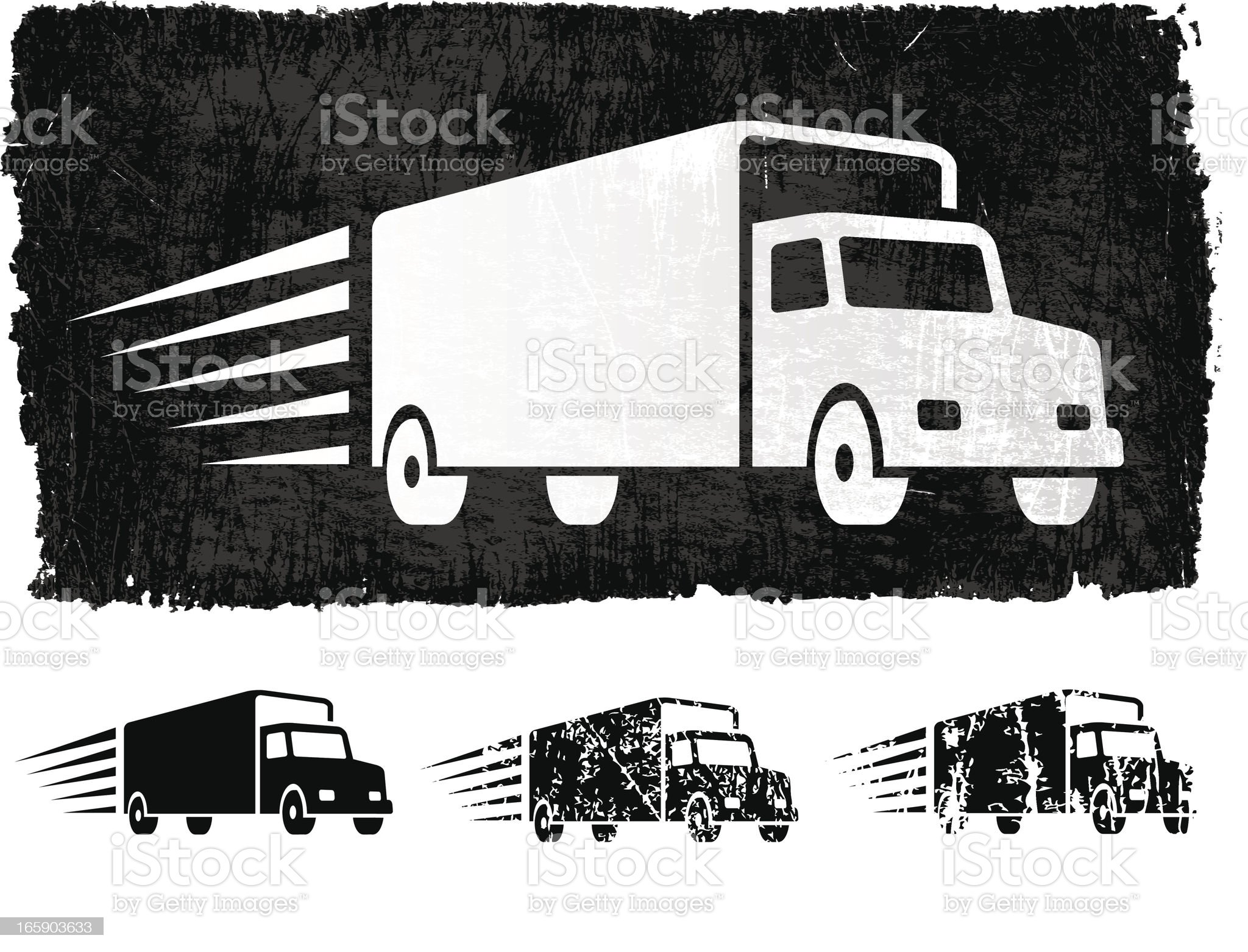 Freight Shipping royalty free vector Background royalty-free stock vector art