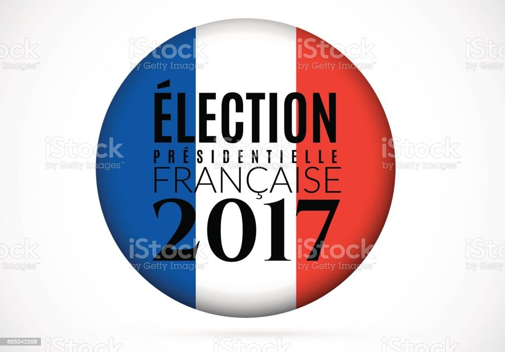 French presidential election 2017 Vector illustration vector art illustration