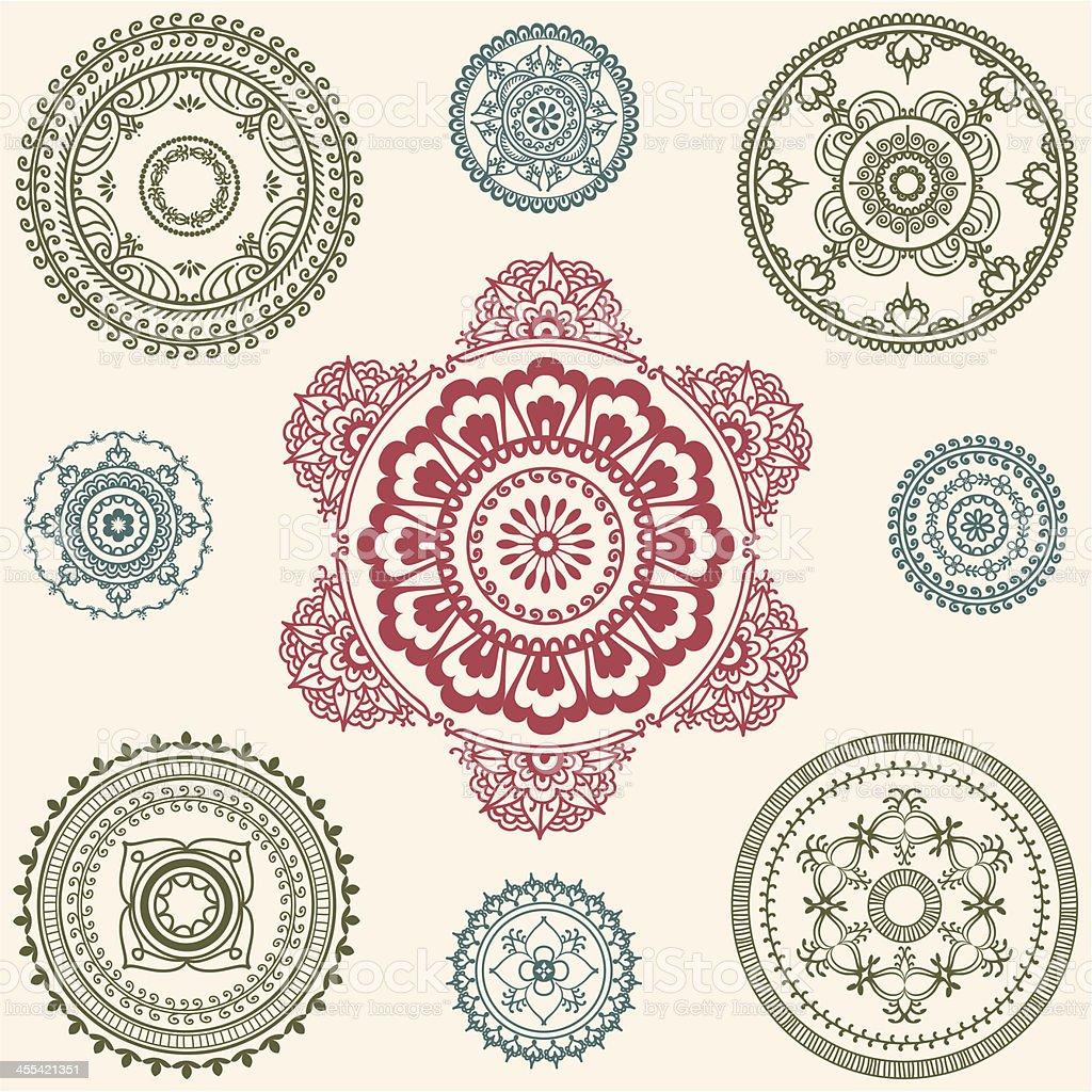 Fresh Air Circles royalty-free stock vector art