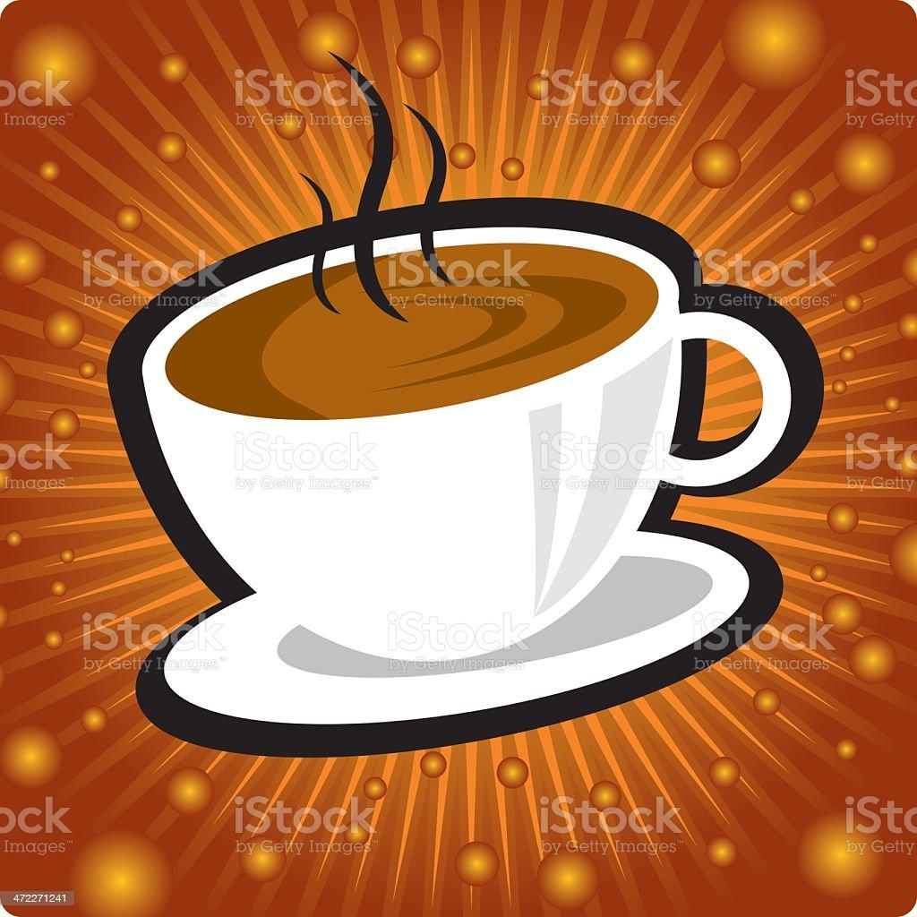 fresh coffee for ya! royalty-free stock vector art