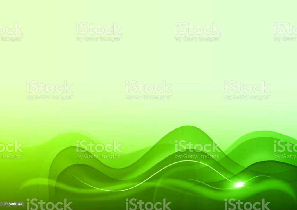 fresh green royalty-free stock vector art