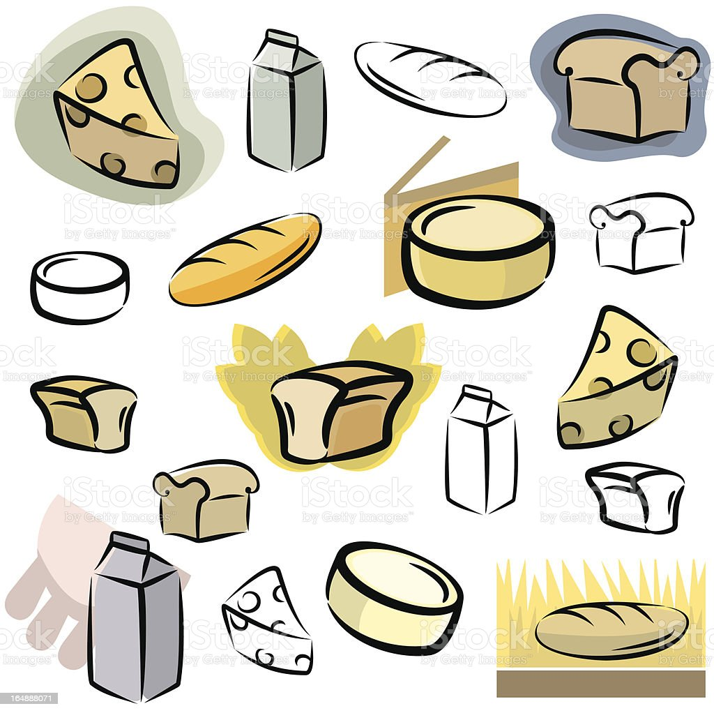 Fresh Icons: Food III (Vector) vector art illustration