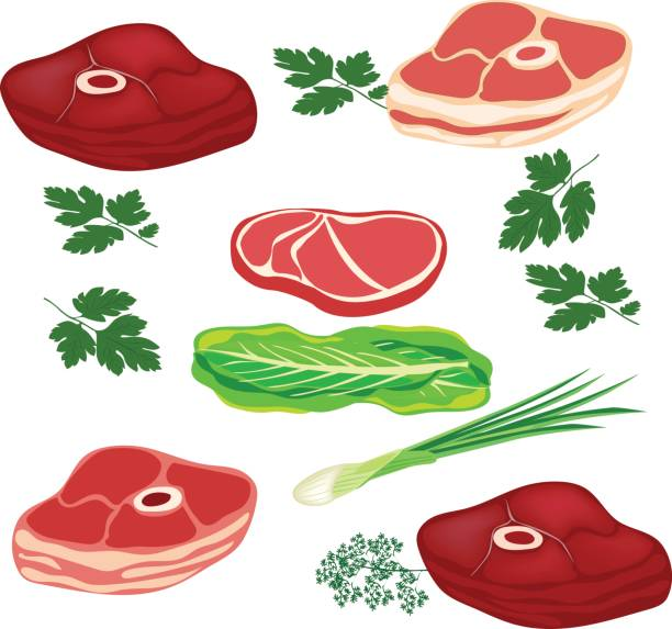 raw meat clipart - photo #40