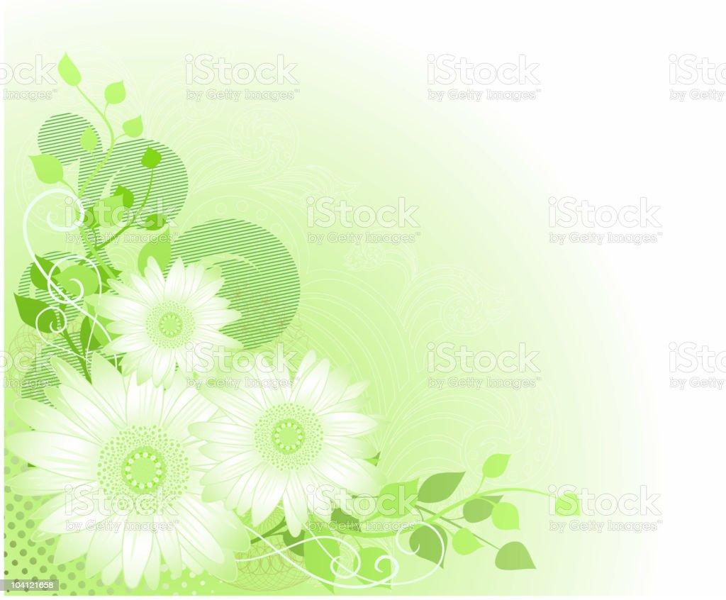 Fresh spring illustration royalty-free stock vector art