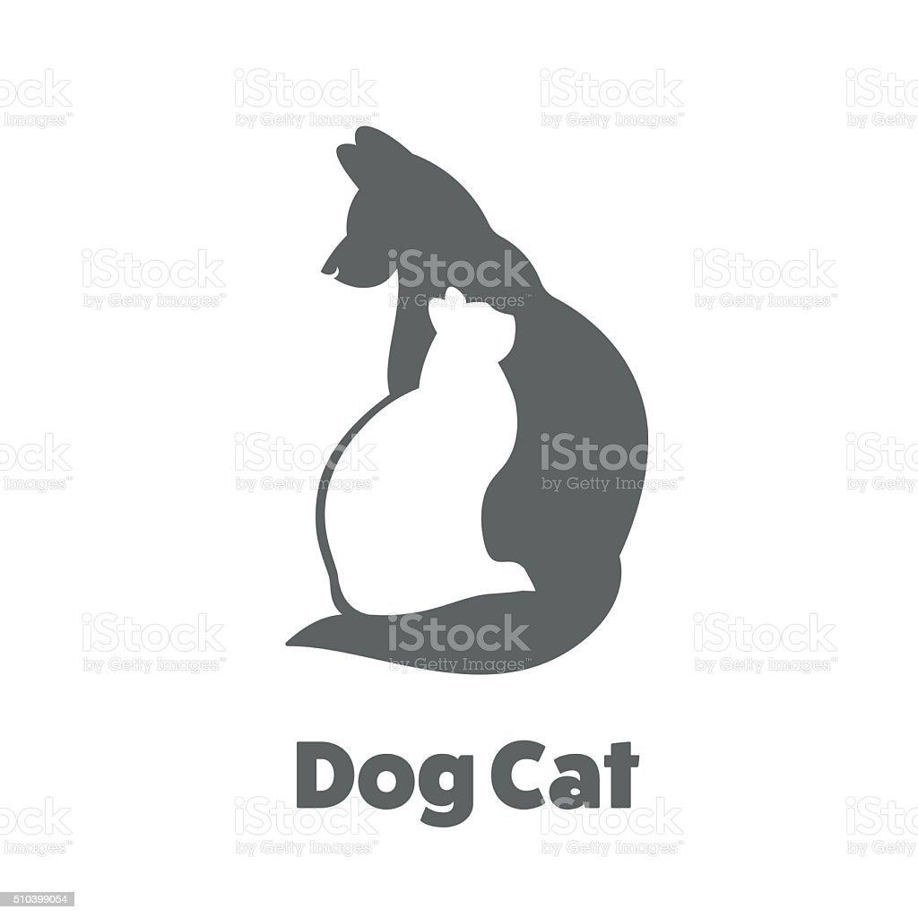 Friends Pet Icon vector art illustration