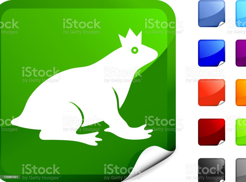frog prince internet royalty free vector art royalty-free stock vector art