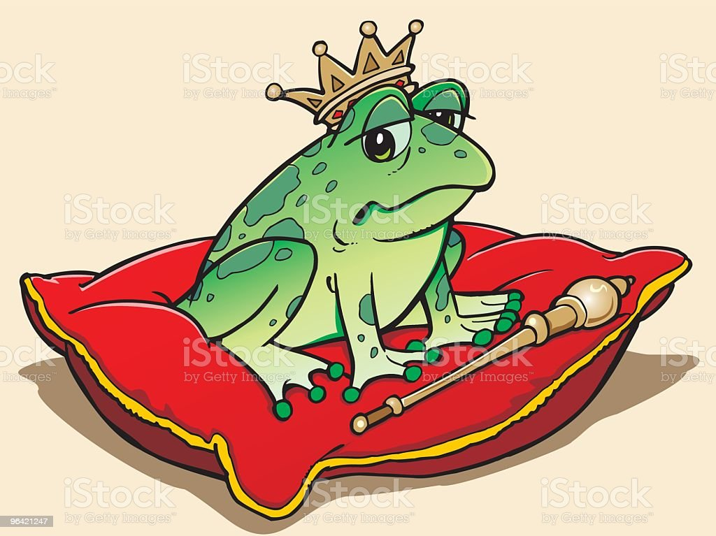 Frog royalty-free stock vector art